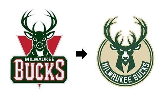 Redesign na NBA: Novo logo do Milwaukee Bucks! 1