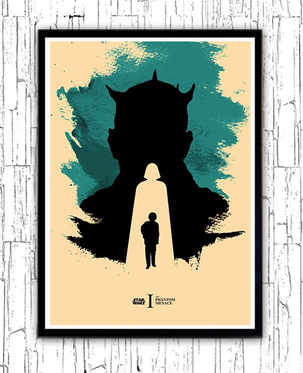 posters-cartazes-apaixonantes-star-wars-minimalistas-1-ameaca-fantasma