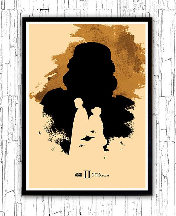 posters-cartazes-apaixonantes-star-wars-minimalistas-2-ataques-dos-clones