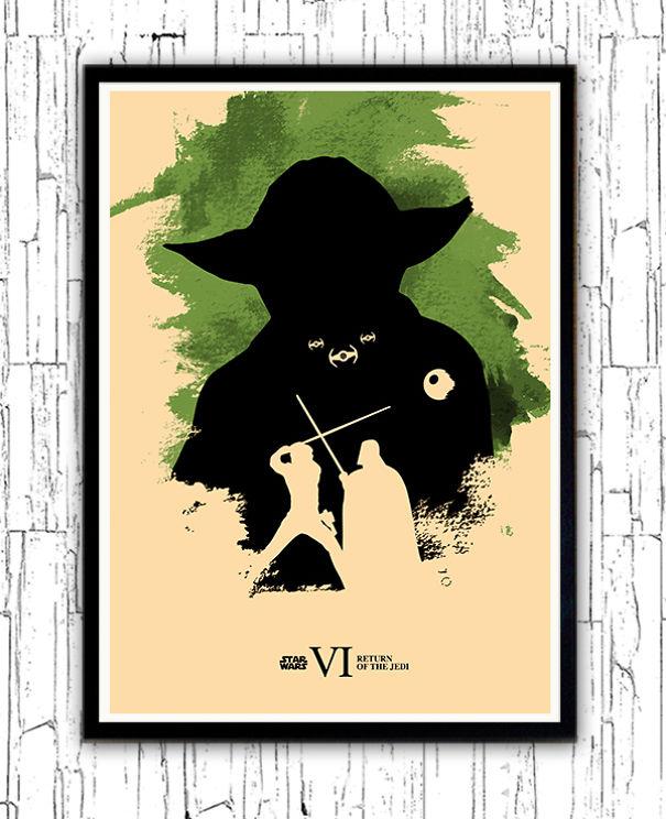 posters-cartazes-apaixonantes-star-wars-minimalistas-6-retorno-do-jedi