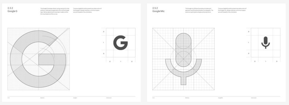 processo criativo e manual do google revelados novo logo 2015 2 - Processo criativo do logo do Google é revelado