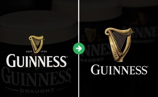 Novo logo da Guinness Brewery: um redesign sofisticado e levemente questionável! 1