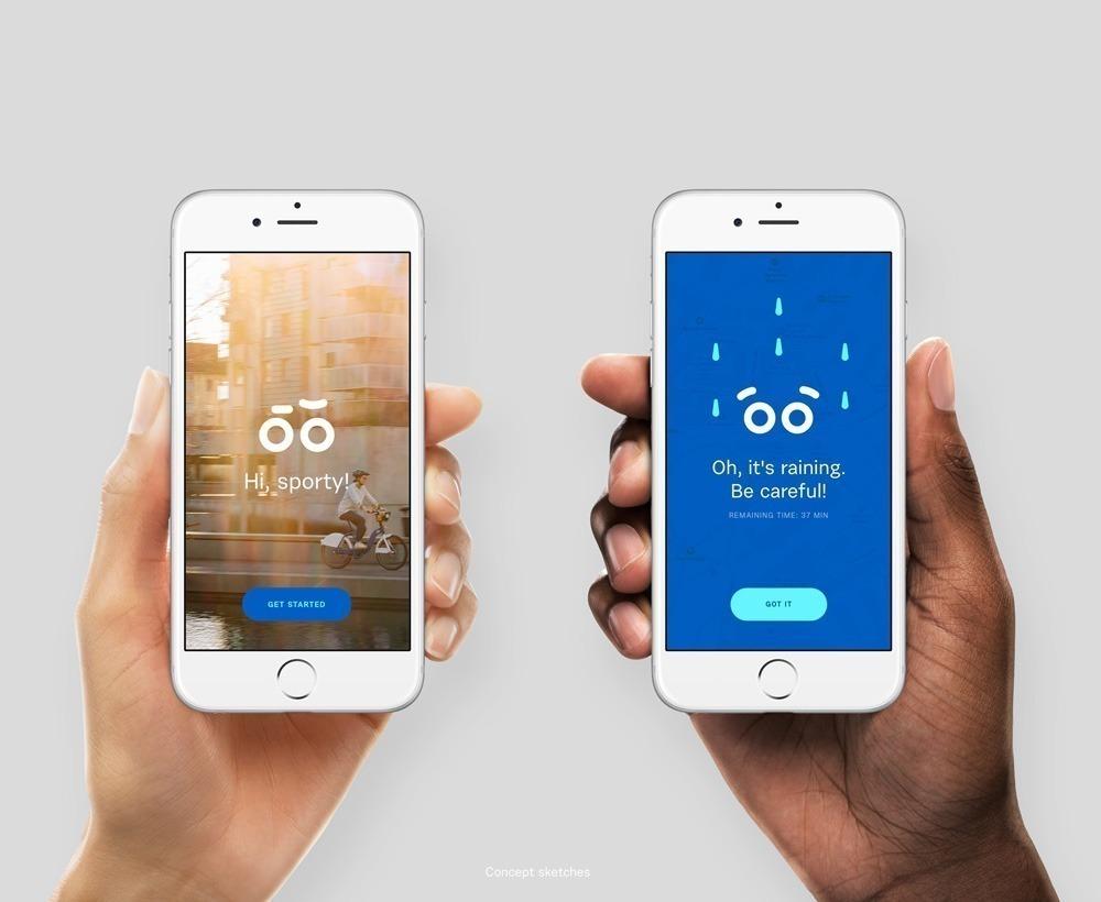 Oslo City Bike revela sistema de logotipos interativos! 5